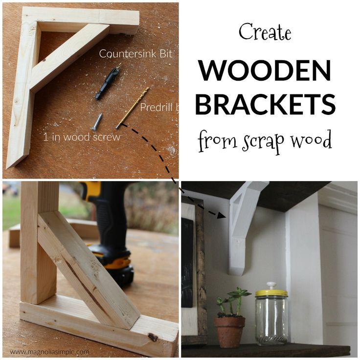 Best ideas about DIY Wood Shelf Bracket . Save or Pin Best 25 Wooden shelf brackets ideas on Pinterest Now.