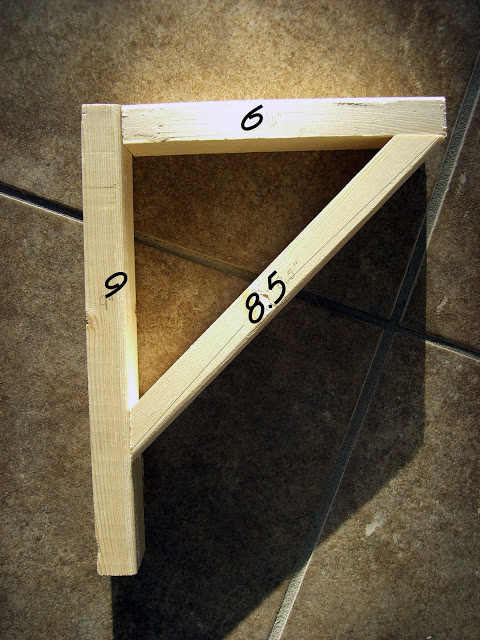 Best ideas about DIY Wood Shelf Bracket . Save or Pin Home Kids Life DIY Easy Shelves and Brackets Now.