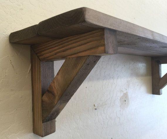 Best ideas about DIY Wood Shelf Bracket . Save or Pin Diy Decorative Wood Shelf Brackets Now.