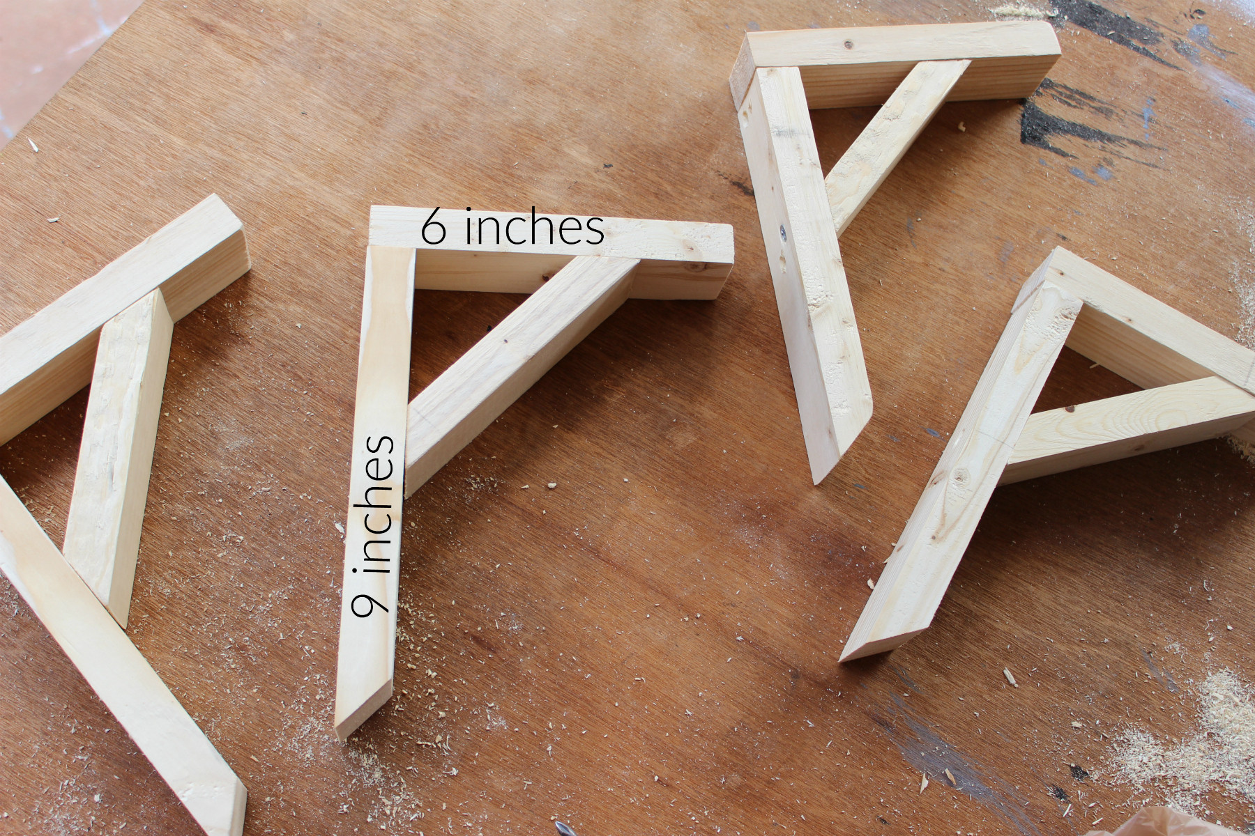 Best ideas about DIY Wood Shelf Bracket . Save or Pin How To Make Wooden Shelf Brackets Now.