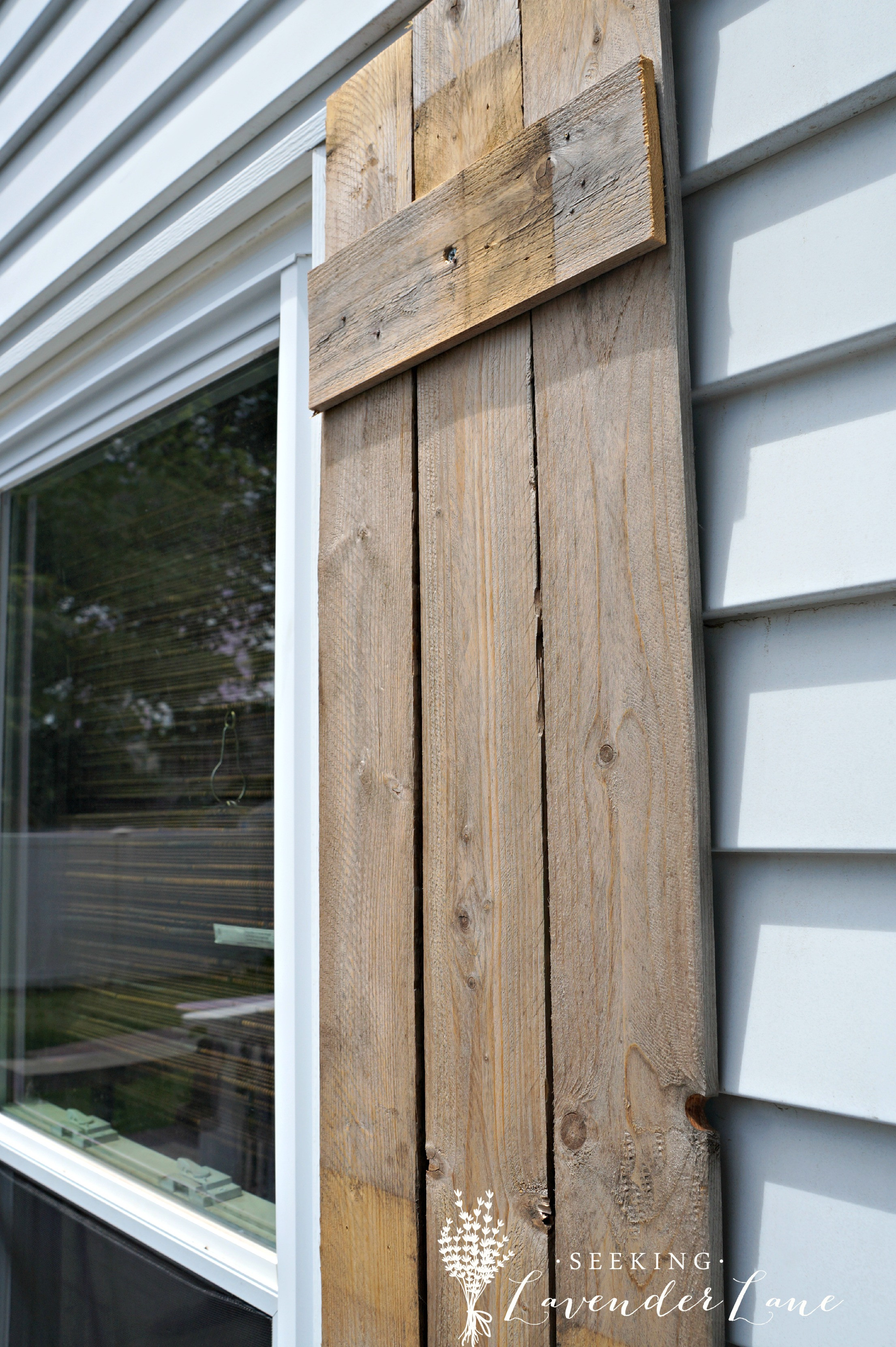Best ideas about DIY Wood Shutters . Save or Pin DIY Wood Shutters for $0 Now.