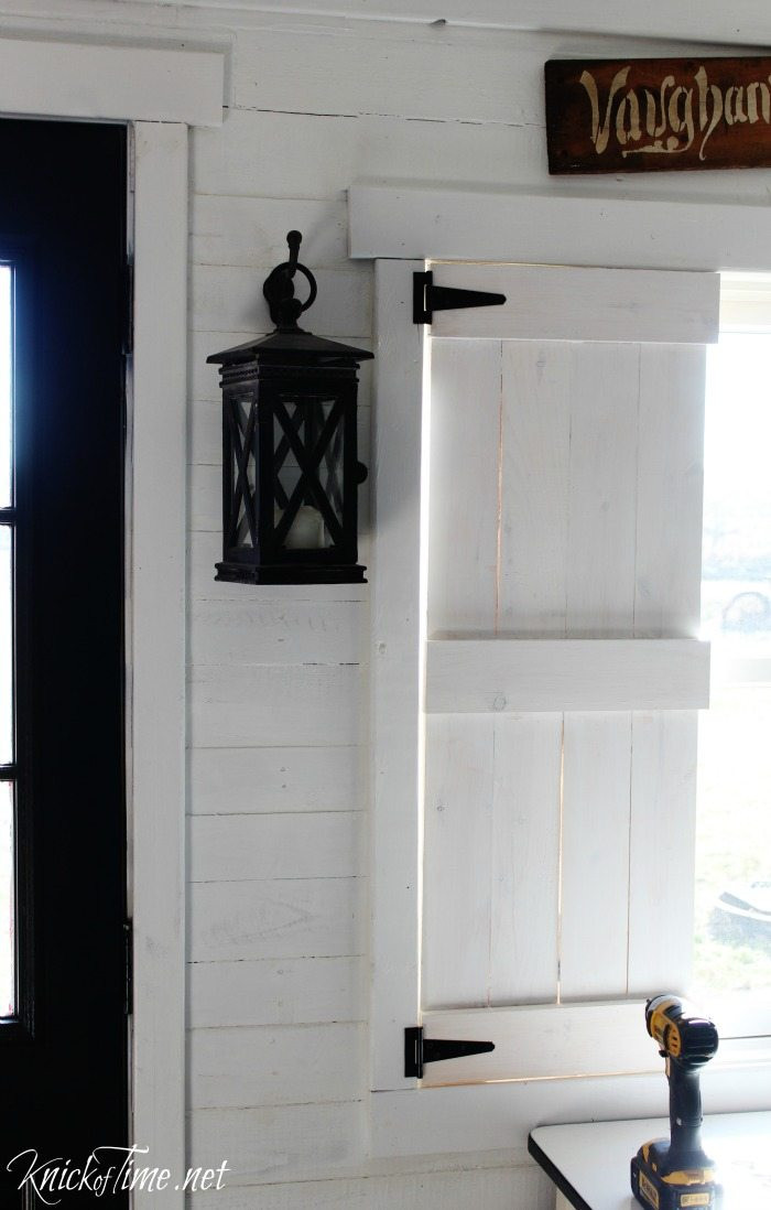 Best ideas about DIY Wood Shutters . Save or Pin DIY Farmhouse Wooden Shutters My Repurposed Life™ Now.