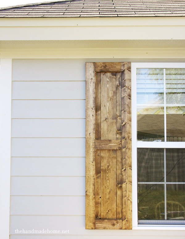 Best ideas about DIY Wood Shutters . Save or Pin how to build shutters diy shutters Now.