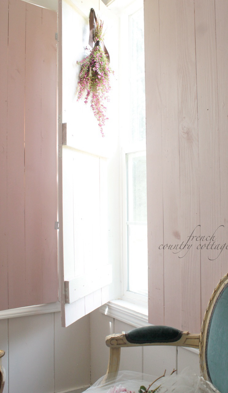 Best ideas about DIY Wood Shutters . Save or Pin DIY Vintage Inspired Wood Shutters FRENCH COUNTRY COTTAGE Now.