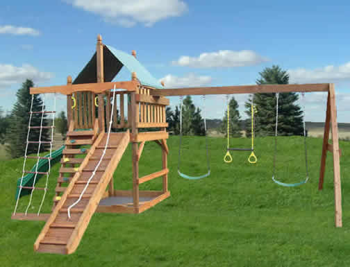 Best ideas about DIY Wood Swing Set Plans . Save or Pin Swing Set Plans for Your Kids Now.