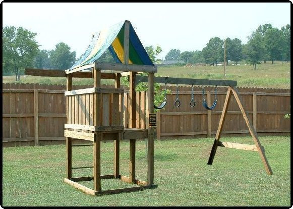 Best ideas about DIY Wood Swing Set Plans . Save or Pin BUILD A PLAYSET FORT PLAYHOUSE SWINGSET WOOD PLANS EASY Now.