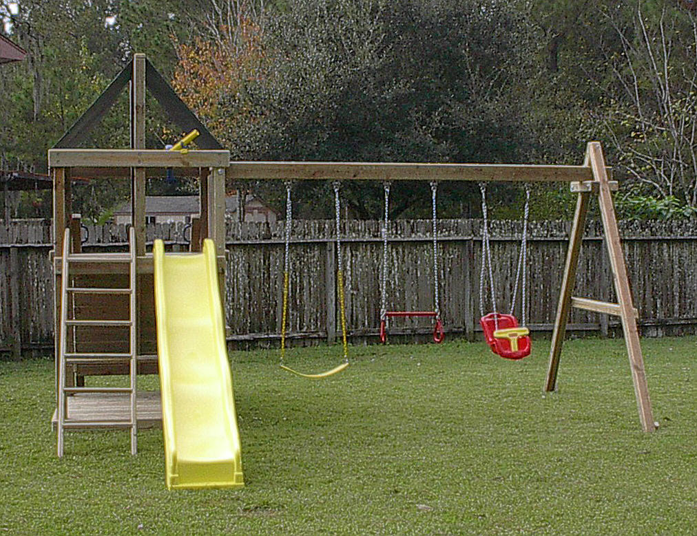 Best ideas about DIY Wood Swing Set Plans . Save or Pin Do It Yourself Wooden Swing Set Plans Now.