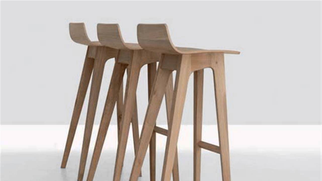 Best ideas about DIY Wooden Bar Stools . Save or Pin DIY Wood Modern Bar Stools Now.