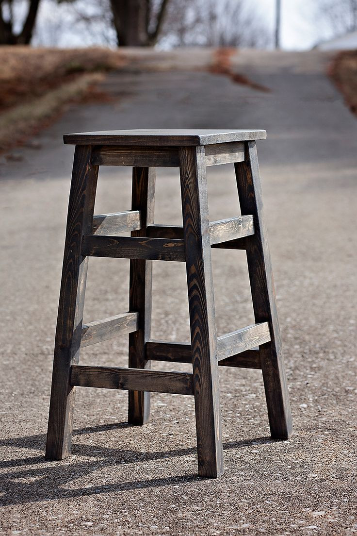 Best ideas about DIY Wooden Bar Stools . Save or Pin Diy Wood Bar Stools WoodWorking Projects & Plans Now.