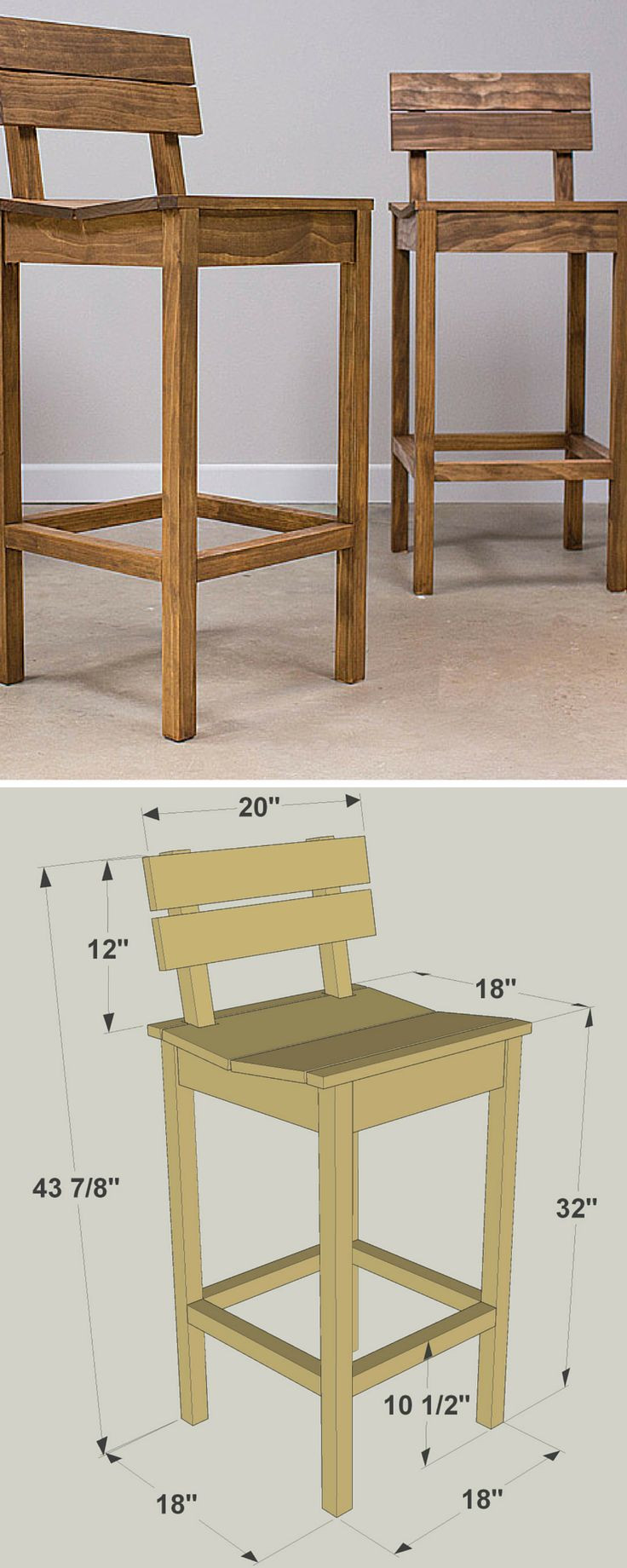 Best ideas about DIY Wooden Bar Stools . Save or Pin Best 25 Pallet bar stools ideas on Pinterest Now.