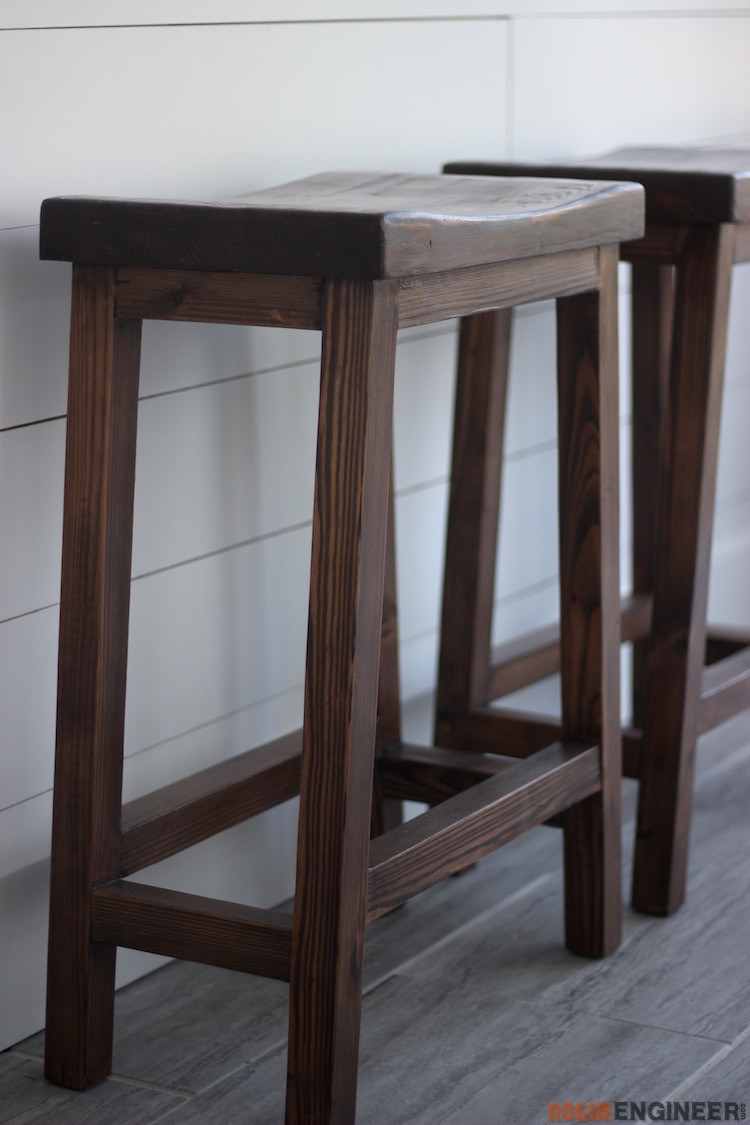 Best ideas about DIY Wooden Bar Stools . Save or Pin Counter Height Bar Stool Rogue Engineer Now.