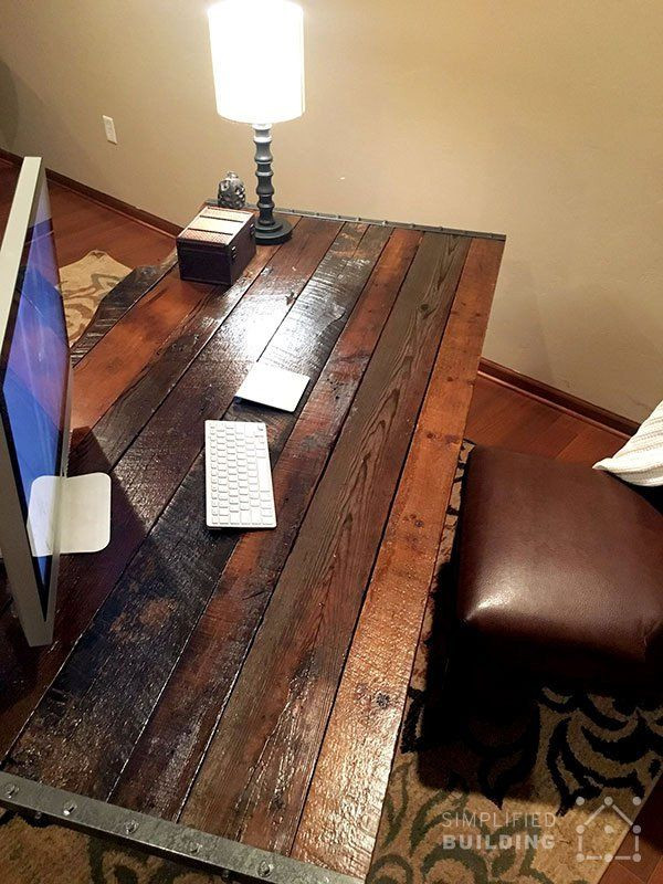 Best ideas about DIY Wooden Desks . Save or Pin 25 Best Ideas about Rustic Desk on Pinterest Now.