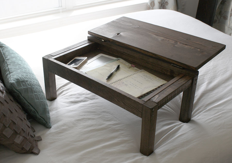 Best ideas about DIY Wooden Desks . Save or Pin DIY Lap Desk Now.