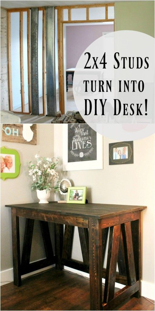 Best ideas about DIY Wooden Desks . Save or Pin 25 best ideas about Diy desk on Pinterest Now.