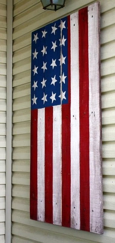 Best ideas about DIY Wooden Flag . Save or Pin 50 Wonderful Pallet Furniture Ideas and Tutorials Now.