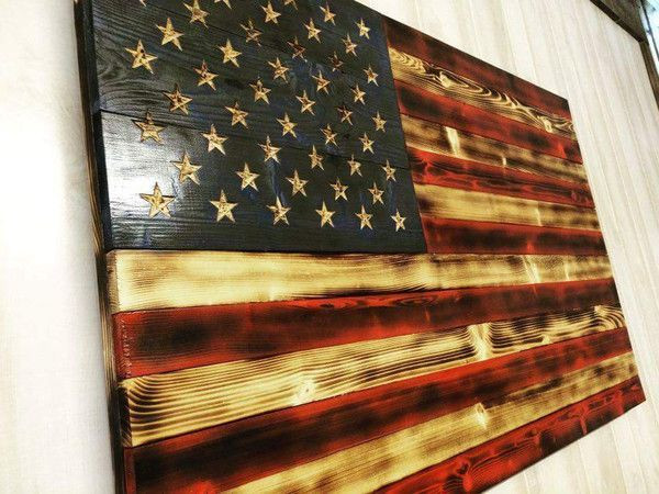 Best ideas about DIY Wooden Flag . Save or Pin american texas flag crafts Now.