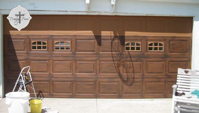 Best ideas about DIY Wooden Garage Doors . Save or Pin 39 best Faux Wood Garage Doors DIY images on Pinterest Now.