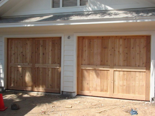 Best ideas about DIY Wooden Garage Doors . Save or Pin Build our own Wood Garage Door Now.