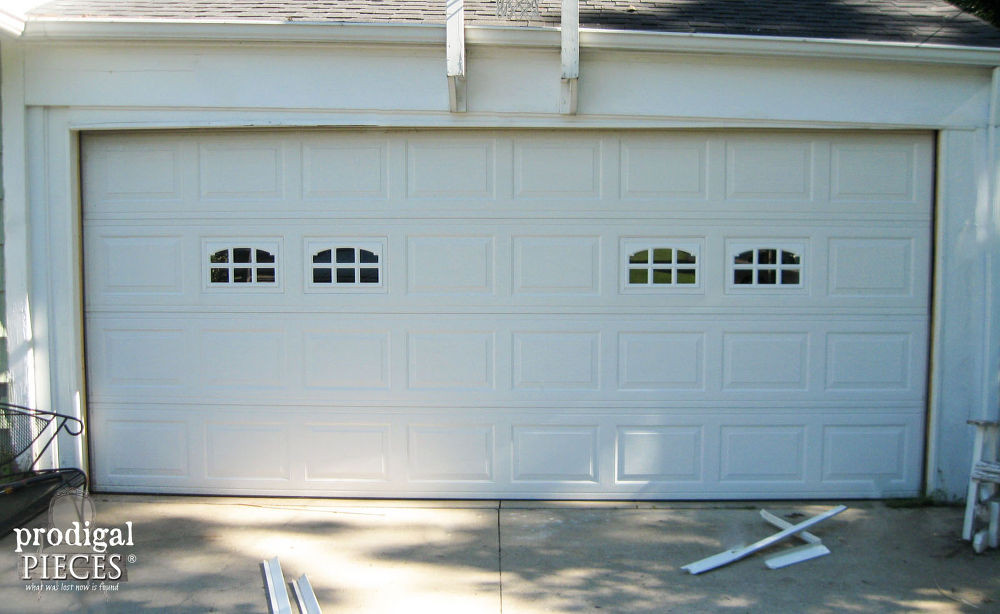 Best ideas about DIY Wooden Garage Doors . Save or Pin DIY Faux Stained Wood Garage Door Tutorial Now.