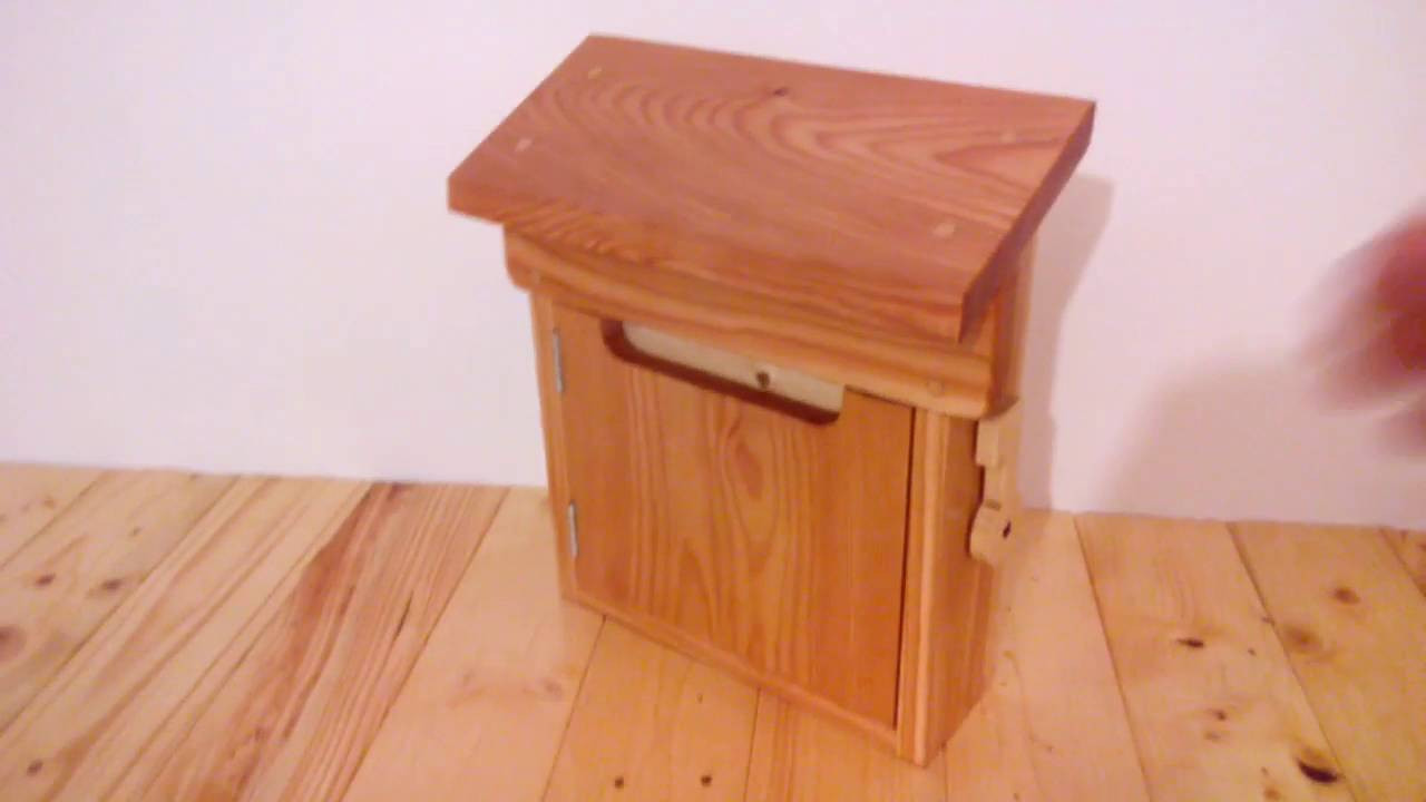 Best ideas about DIY Wooden Mailbox . Save or Pin My diy wooden mailbox Now.