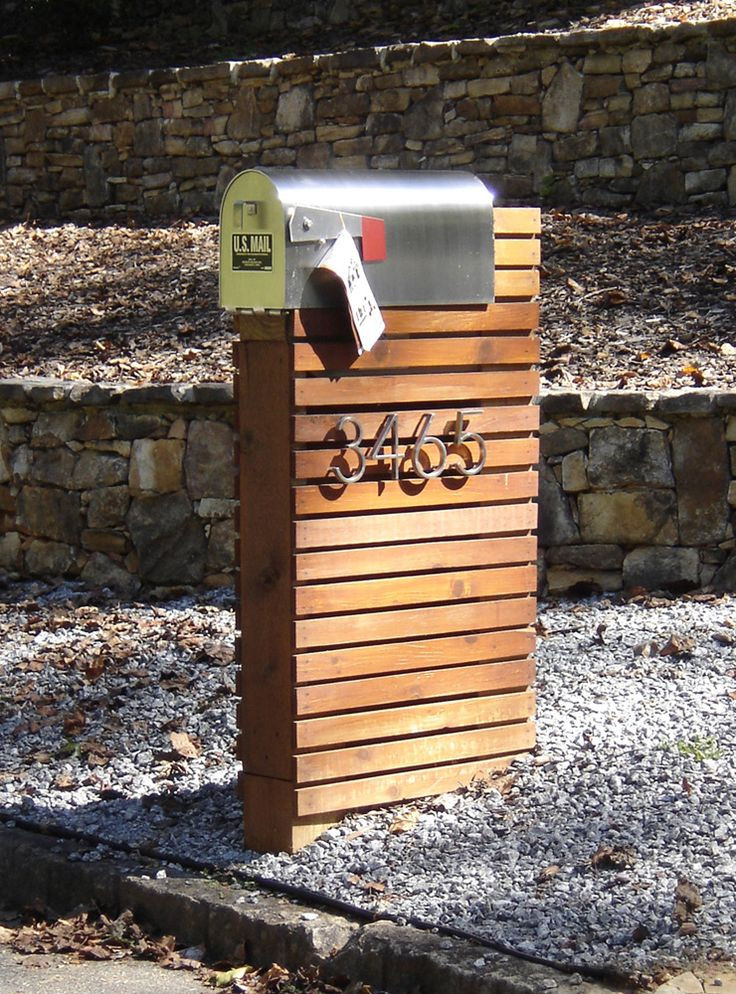 Best ideas about DIY Wooden Mailbox . Save or Pin Best 25 Modern mailbox ideas on Pinterest Now.