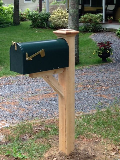 Best ideas about DIY Wooden Mailbox . Save or Pin Best 25 Mailbox post ideas on Pinterest Now.