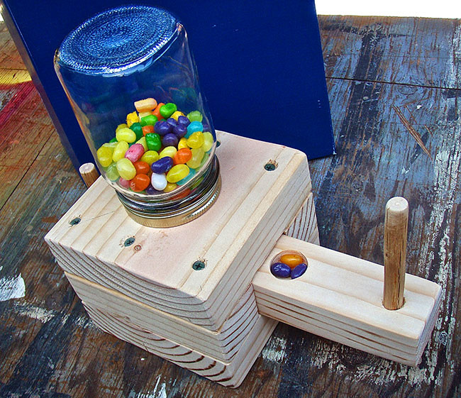 Best ideas about DIY Woodwork Projects For Kids . Save or Pin Make a Homemade Candy Dispenser – Boys Life magazine Now.