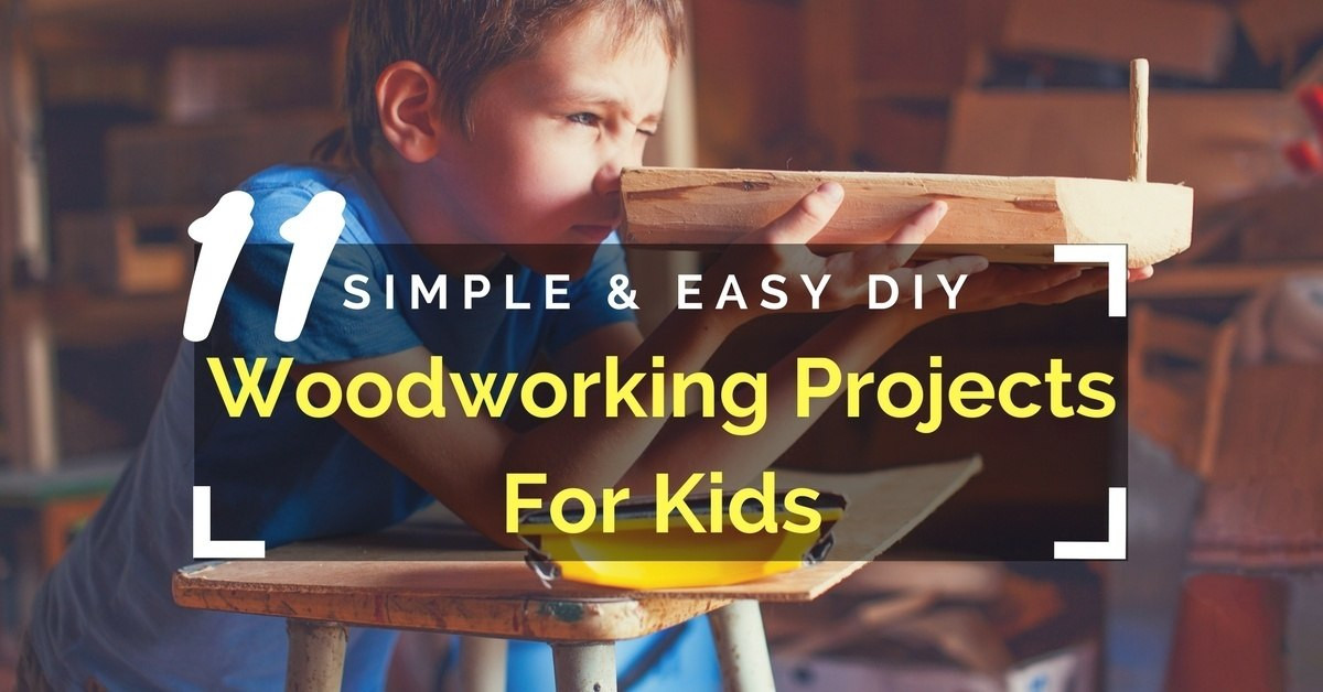 Best ideas about DIY Woodwork Projects For Kids . Save or Pin 40 Woodworking Projects For Kids Quick & Easy DIY Wood Now.