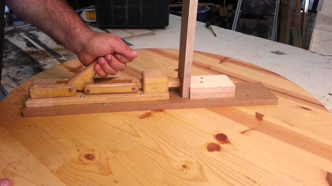 "Best ideas about DIY Woodworking Clamps . Save or Pin Woodworking homemade ""toggle clamps"" Now."