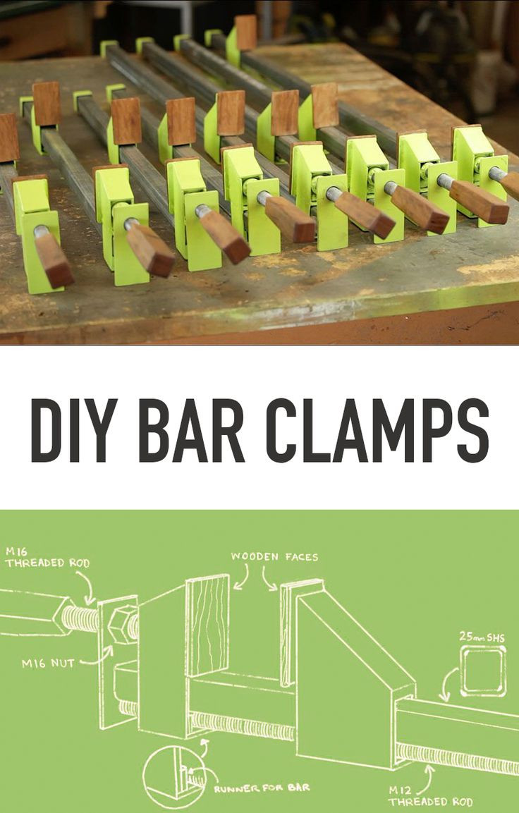 Best ideas about DIY Woodworking Clamps . Save or Pin 222 best images about DIY Clamps on Pinterest Now.