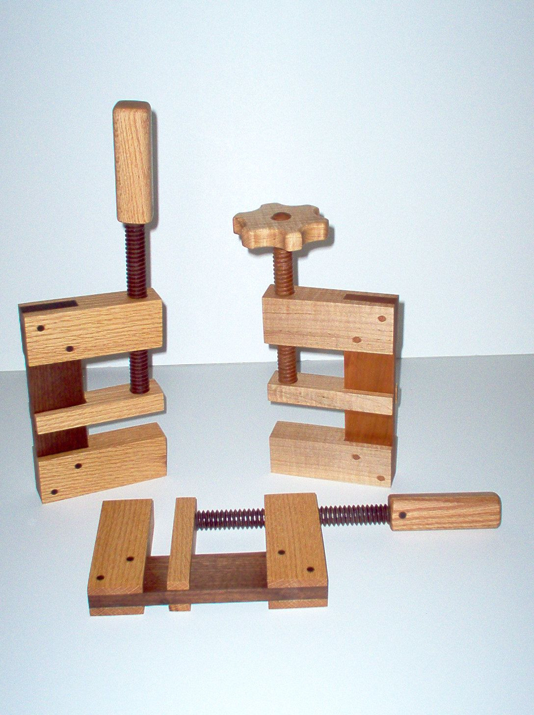 Best ideas about DIY Woodworking Clamps . Save or Pin Wooden c clamps Yes they work Can be made from metal Now.