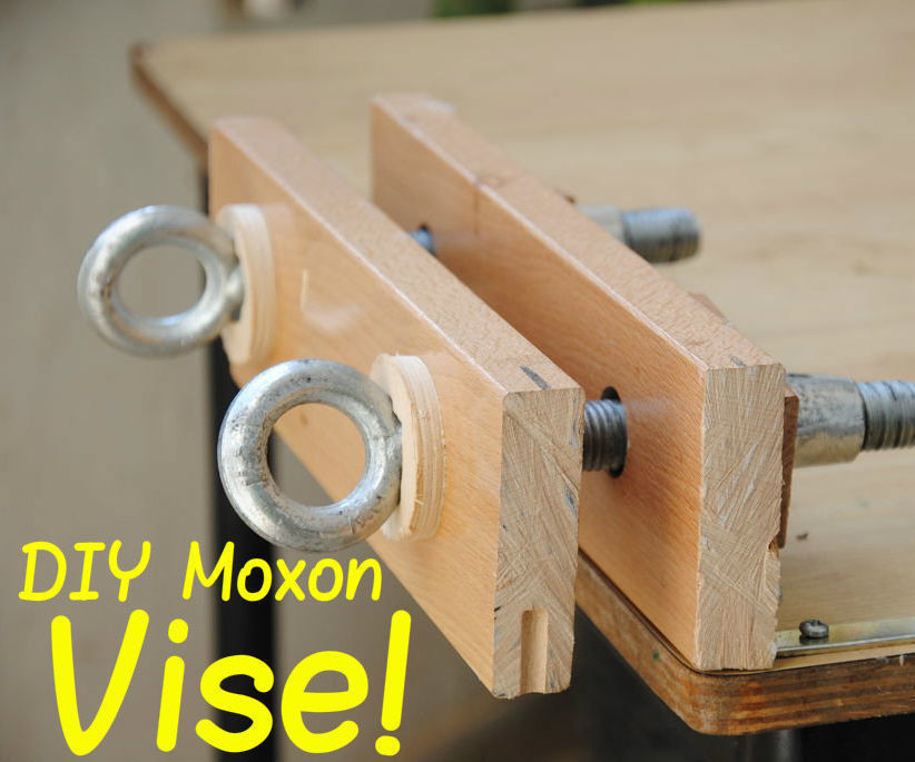 Best ideas about DIY Woodworking Clamps . Save or Pin How to Build a Twin Screw Vise Now.