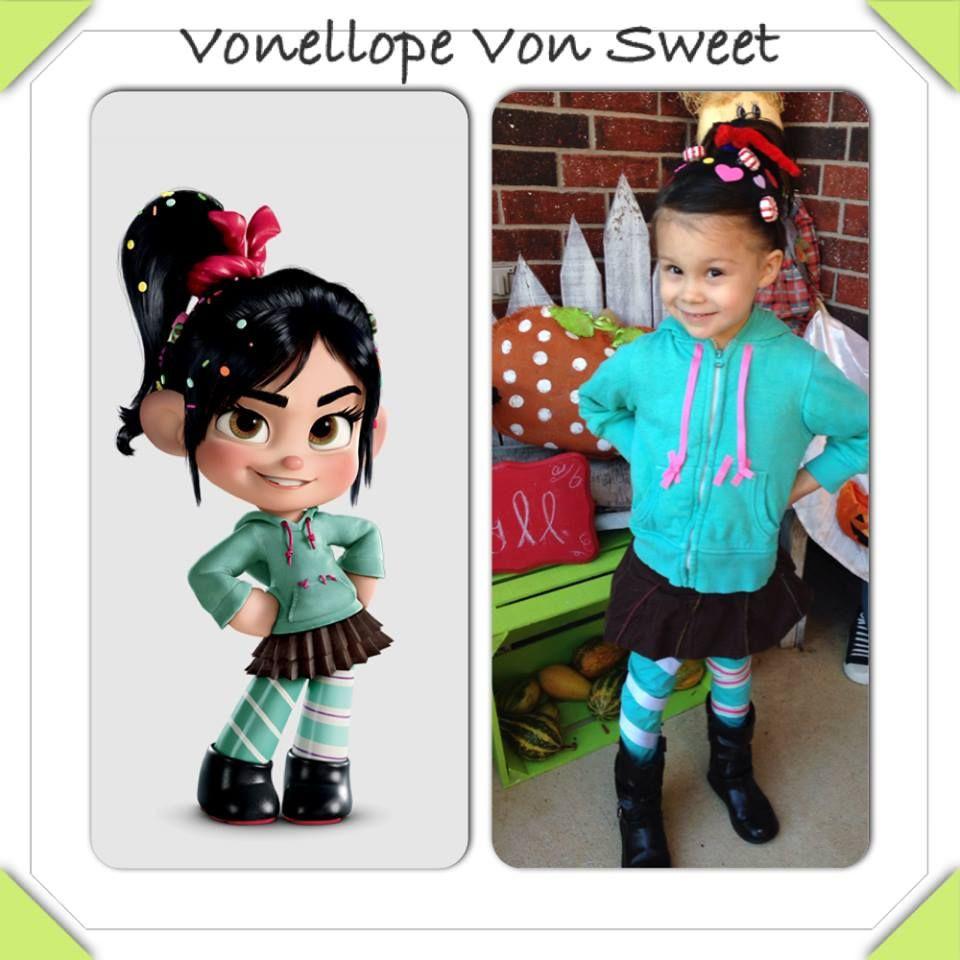 Best ideas about DIY Wreck It Ralph Costume . Save or Pin DIY Vonellope Von Sweet Costume Wreck It Ralph Halloween Now.