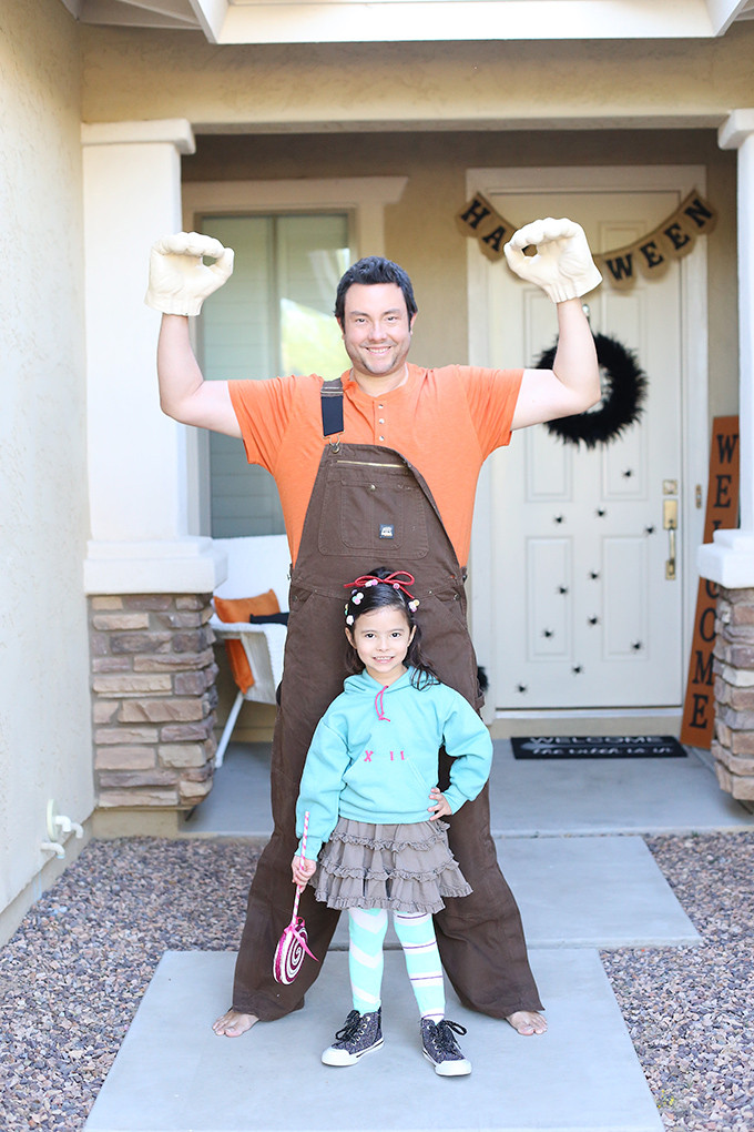 Best ideas about DIY Wreck It Ralph Costume . Save or Pin Halloween DIY Wreck It Ralph Family Costume See Vanessa Now.