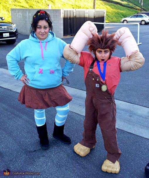 Best ideas about DIY Wreck It Ralph Costume . Save or Pin Wreck It Ralph and Vanellope Costume Now.