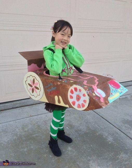 Best ideas about DIY Wreck It Ralph Costume . Save or Pin 27 best Vanellope von Schweetz Costume Wreck It Ralph Now.