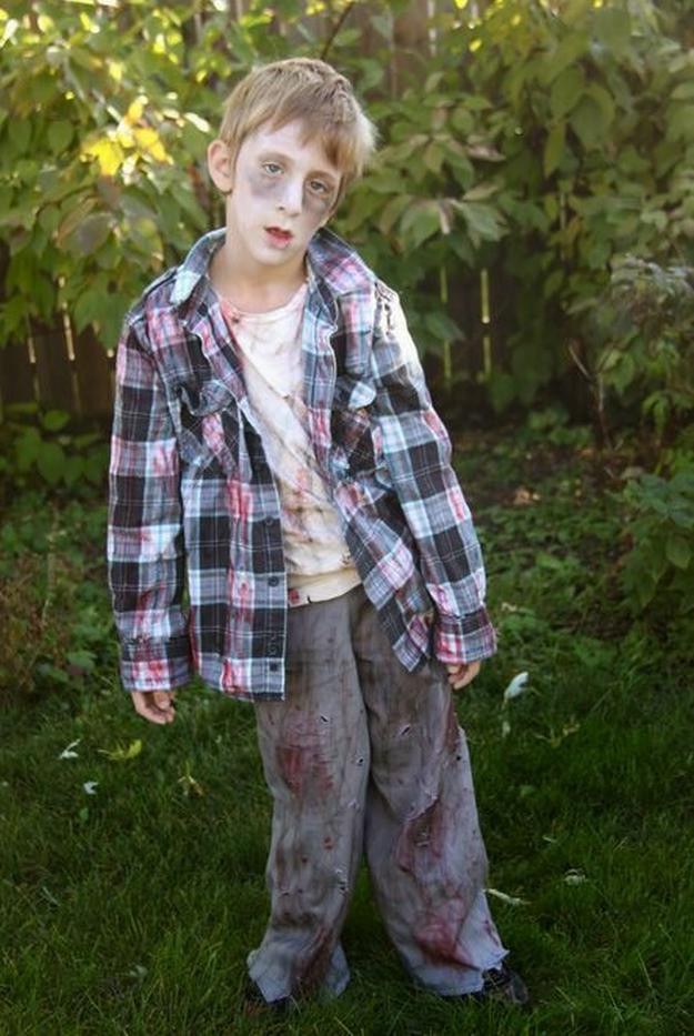 Best ideas about DIY Zombie Costume For Kids . Save or Pin 18 DIY Zombie Costume Ideas DIY Projects Craft Ideas & How Now.