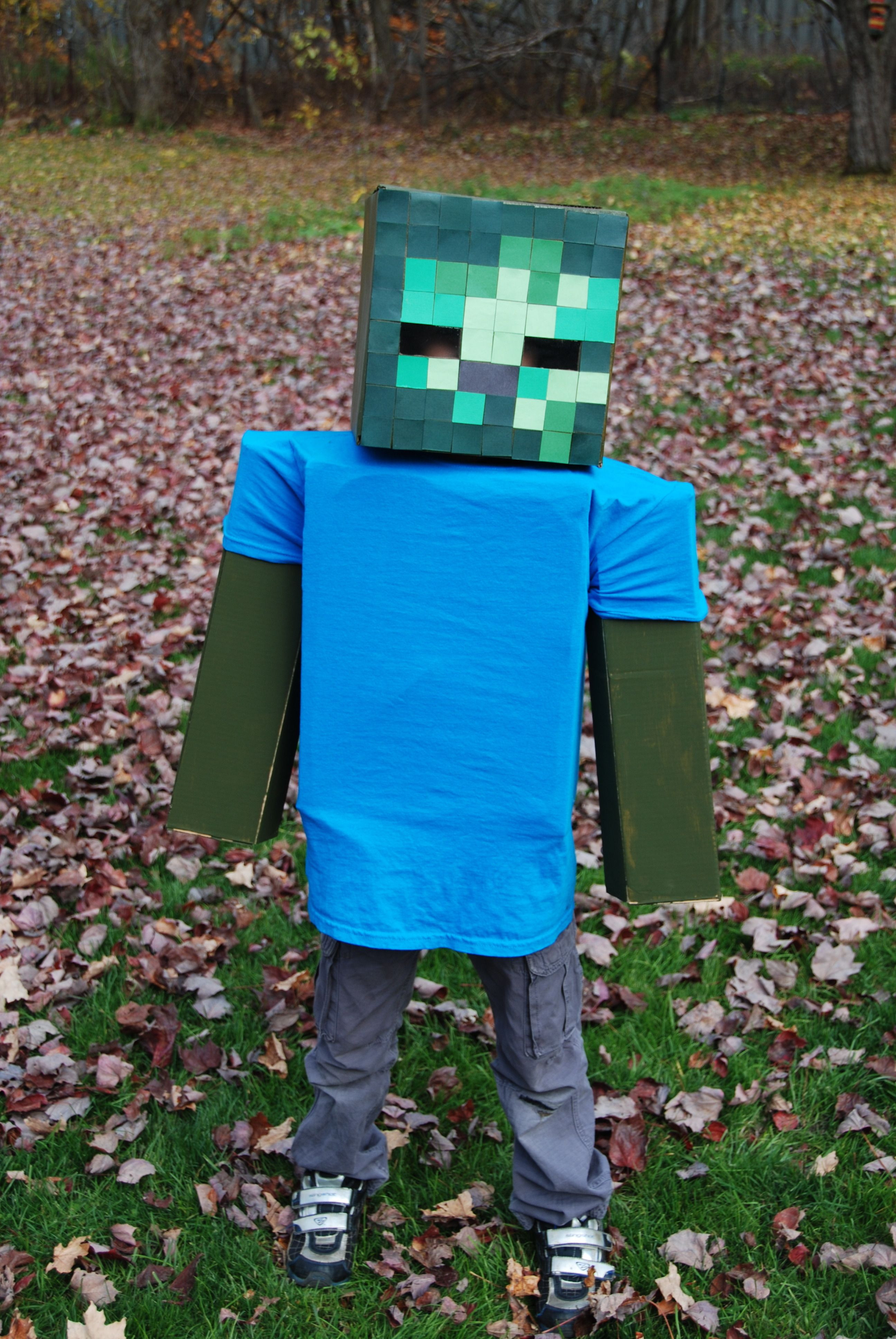 Best ideas about DIY Zombie Costume For Kids . Save or Pin Minecraft Zombie Costume Diy Lwhtxrs Now.