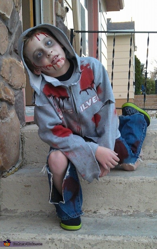 Best ideas about DIY Zombie Costume For Kids . Save or Pin Child Zombie Halloween Costume Now.