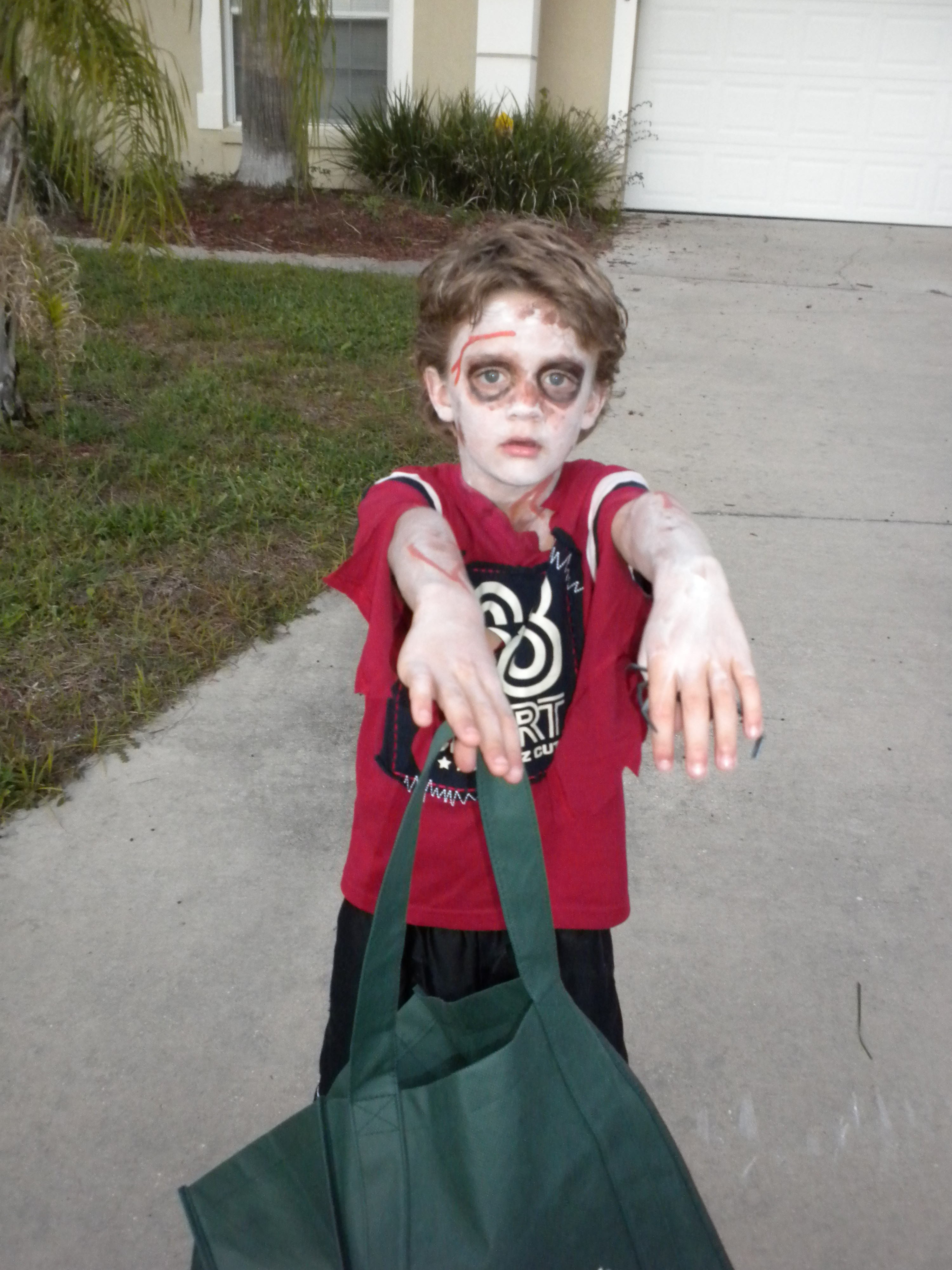 Best ideas about DIY Zombie Costume For Kids . Save or Pin 301 Moved Permanently Now.