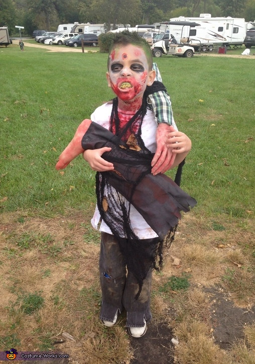 Best ideas about DIY Zombie Costume For Kids . Save or Pin DIY Zombie Boy Costume Now.