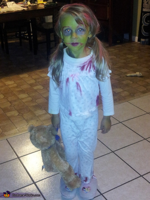 Best ideas about DIY Zombie Costume For Kids . Save or Pin Zombie Demon Child Halloween Costume Now.
