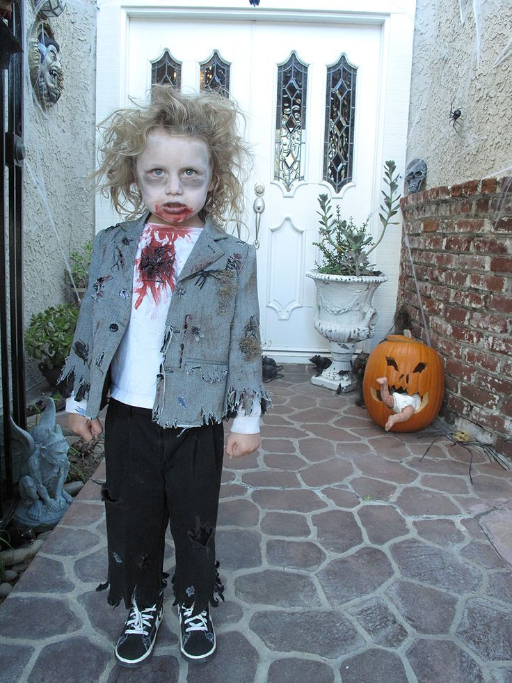 Best ideas about DIY Zombie Costume For Kids . Save or Pin 17 Best ideas about Kids Zombie Costumes on Pinterest Now.