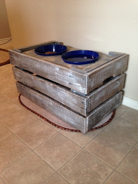 Best ideas about Dog Bowl Stand DIY . Save or Pin Ana White Now.