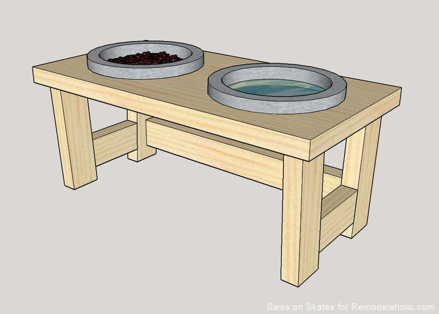 Best ideas about Dog Bowl Stand DIY . Save or Pin DIY Dog Food Bowl Stand for Small Pups – OBSiGeN Now.