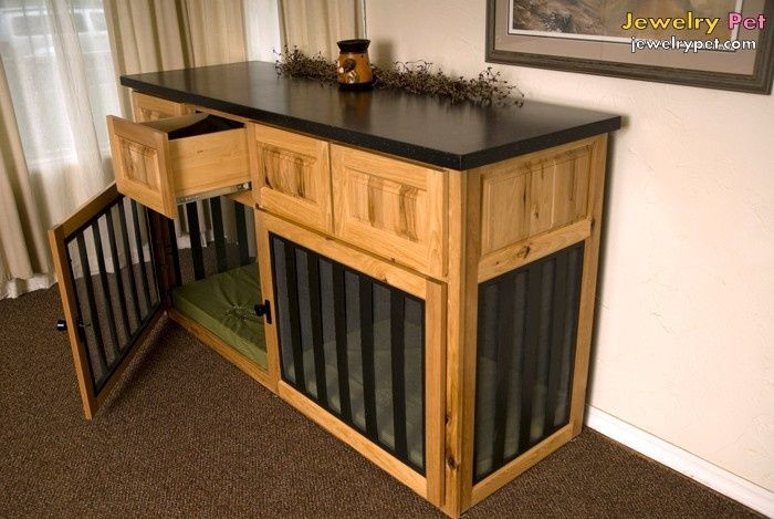 Best ideas about Dog Crate Furniture DIY . Save or Pin dog crates that look like furniture Now.