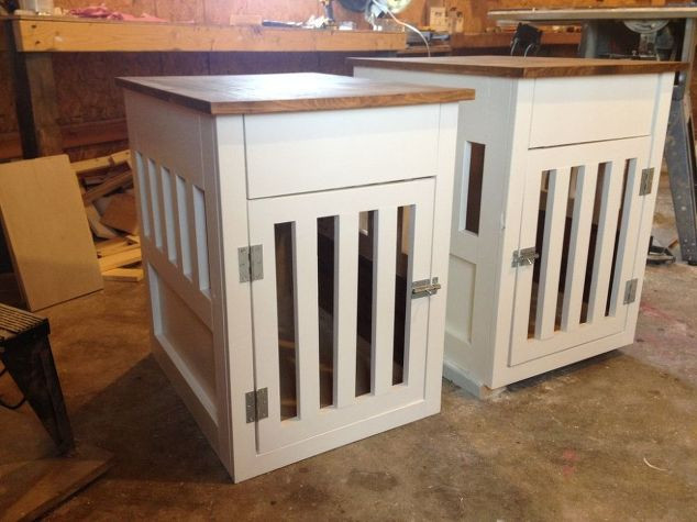 Best ideas about Dog Crate Furniture DIY . Save or Pin Going to the Dogs DIY Dog Crate Nightstands Now.