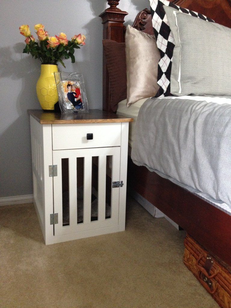 Best ideas about Dog Crate Furniture DIY . Save or Pin Hometalk Now.