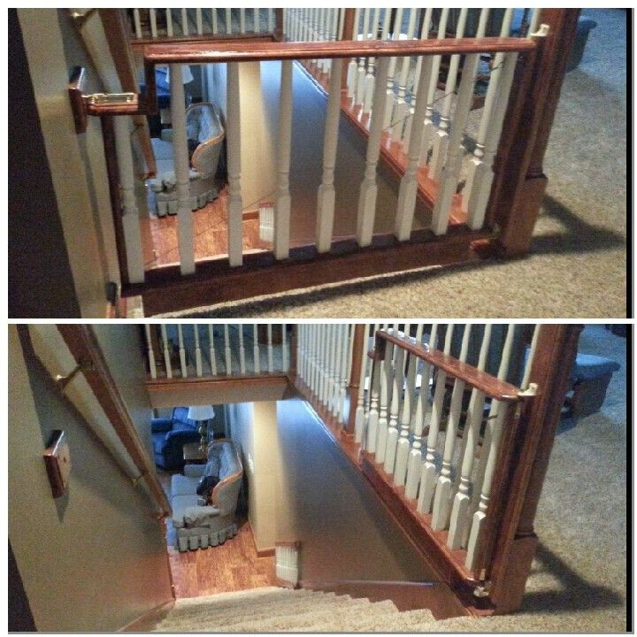 Best ideas about Dog Gate For Stairs . Save or Pin 17 Best ideas about Baby Gates Stairs on Pinterest Now.