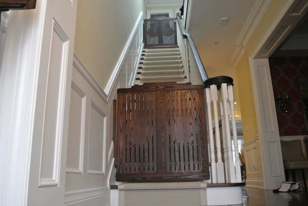 Best ideas about Dog Gate For Stairs . Save or Pin Pet Gates For Stairs Design — Cookwithalocal Home and Now.